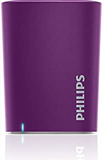 Caixa de Som Portátil Philips BT100V Bluetooth Speaker Lilás