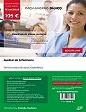 PACK AHORRO BÁSICO. Auxiliar de Enfermería. Servicio vasco de salud-Osakidetza (Incluye Temario, Test y Simulacros de examen + Curso)