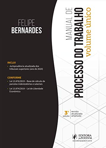 Manual de Processo do Trabalho - Volume único