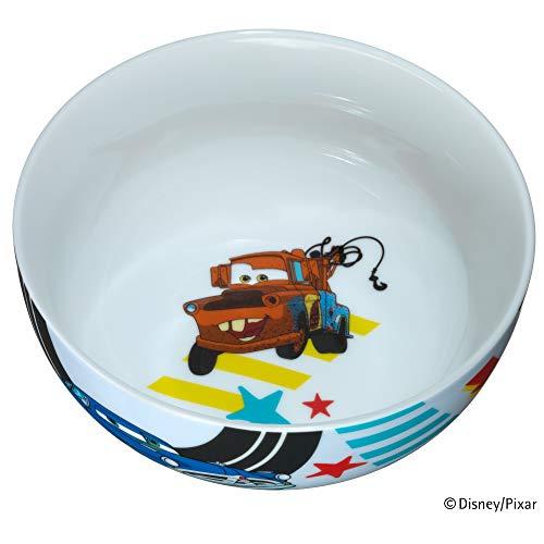 WMF Disney Cars2 Kindergeschirr Kinder-Müslischale 13,8 cm, Porzellan, spülmaschinengeeignet, farb- und lebensmittelecht