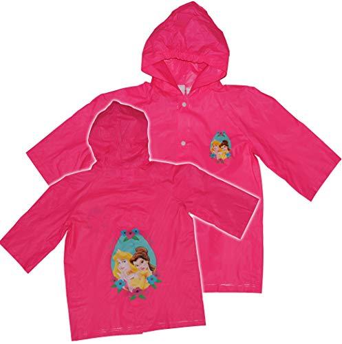 alles-meine.de GmbH Regenmantel Disney Prinzessin 116 / 122 _ 5 - 6 Jahre Kinder Regenjacke / Regencape Prinzessinnen Princess für Mädchen
