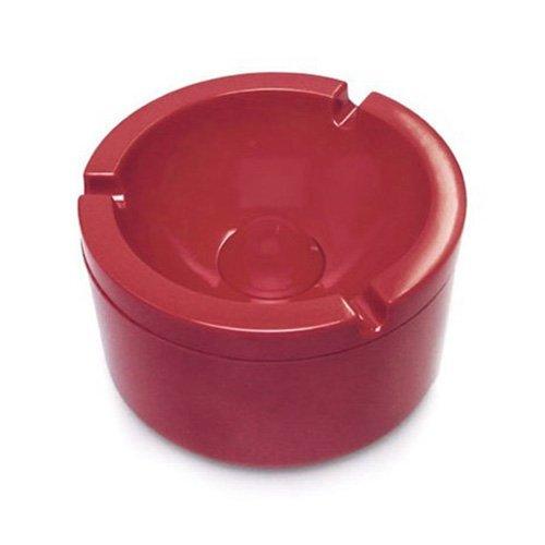 Mepal Aschenbecher Mit Deckel, Melamin, Lunar Rot, 10 x 6 x 10 cm, 5-Einheiten