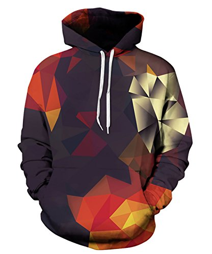 Mens Patterned Hoodies