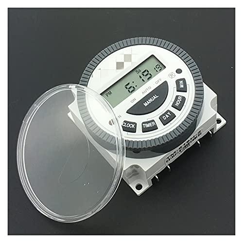 Yinyimei Relé TM619 AC 220V 230V 240V Digital LCD Temporizador de energía...