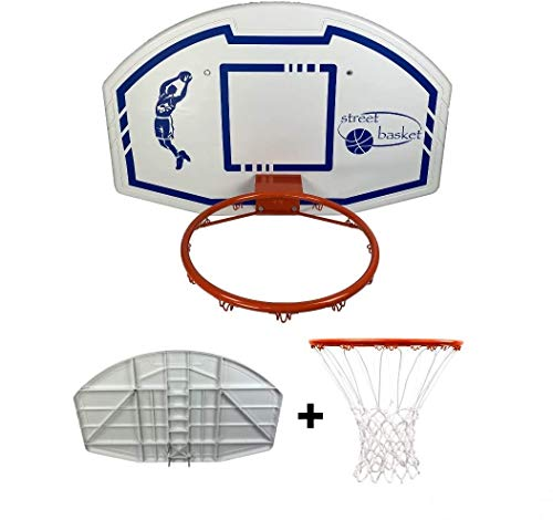 "Generico Kit Basket ""Professional"" Composto da: Tabellone Basket in Polipropilene Misure..."