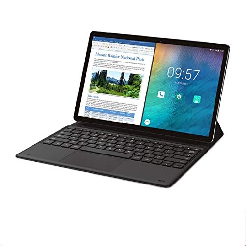 Tablet Computer, M16 11.6' Android Tablet Helio X27 Deca Core 4GB RAM 128G ROM 4G Network Tablets PC 8.0MP Docking Type-C HDMI 7500mAh (Tablet with Keyboard)