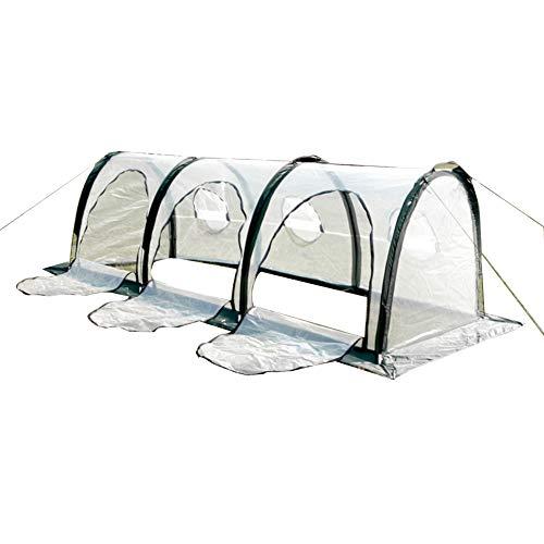 LIANGLIANG Invernadero De Jardín Jardinería Túnel Portátil Conservación del Calor Anticongelante A...