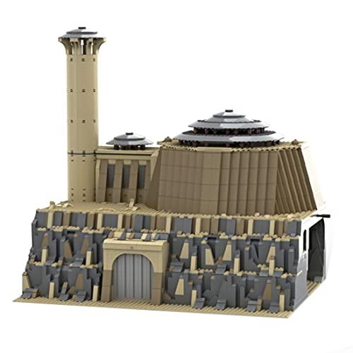 Likecom Jabbas Palast Modell Bausteine, MOC-79354, Autorisiert und gestaltet von Brick_boss_pdf, 2608 Teile Palast Architektur Modular Klemmbausteine, Kompatibel mit Lego Star Wars