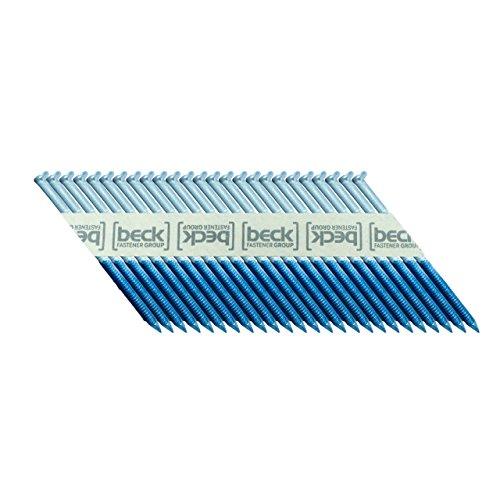 BECK FASTENER GROUP 34° Papierstreifennägel 2,9x70mm Ring-Schaft elektro-verzinkt 12µm