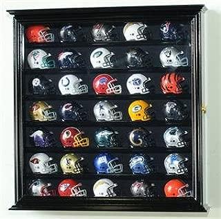 sfDisplay.com,LLC. Pocket Pro Mini Helmet Display Case Cabinet Holder Rack for Pocket Pros w/UV Protection