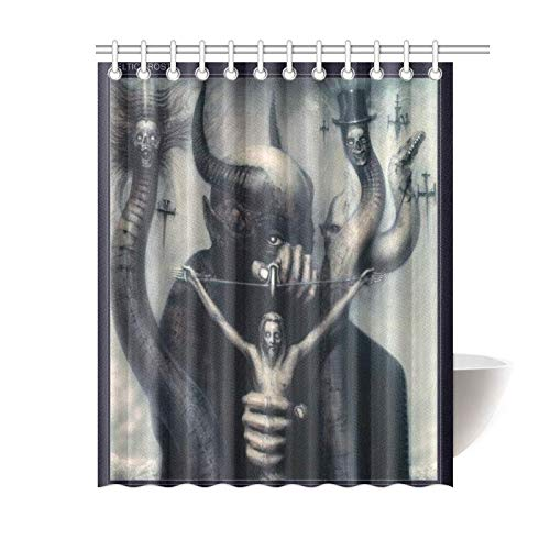 Celtic Frost to Mega Therion Bathroom Waterproof Shower Curtain Decor