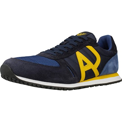 Herren Sportschuhe, color Blau , marca ARMANI JEANS, modelo Herren Sportschuhe ARMANI JEANS 935027 7A420 Blau
