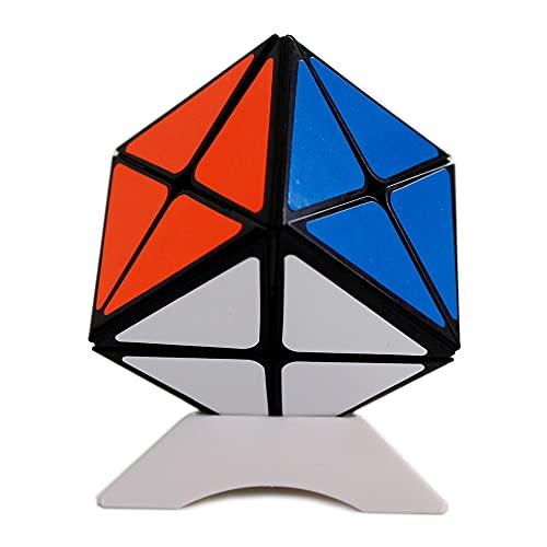 Oostifun Gobus Sengso Shengshou Dino Cube Legend 8 Axis X Magic Cube Dino Skew Irregular Puzzle Cube Negro