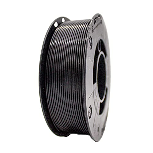Winkle Filamento Asa, 1.75 mm, Negro Azabache, Filamento para Impresión 3D, Bobina 1000 gr