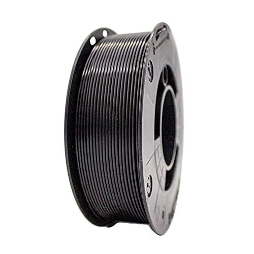 Winkle Filamento ASA 1,75 mm | Filamento stampante 3D | ASA 3D | Stampa 3D | Colore Nero Azabache | Bobina 1000 g