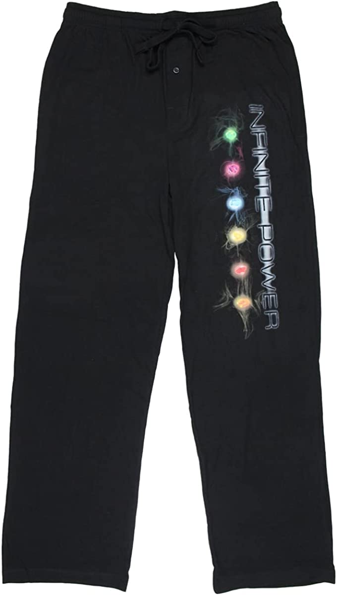 Marvel Mens' Infinity War Infinite Power Sleep Lounge Pajama Pants