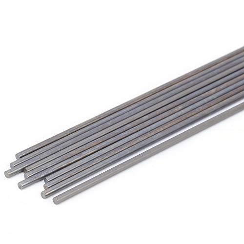 10 piezas WC20 varilla de tungsteno WC20 soldadura de tungsteno TIG varilla de soldadura equipo de aguja de soldadura de tungsteno