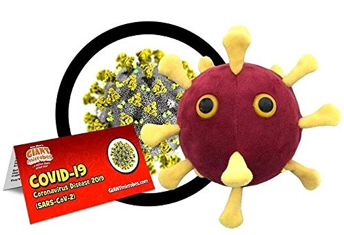 Peluche Virus COVID-19 - Giant Microbes