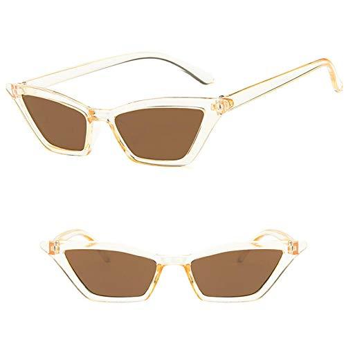 Fashion Vintage Cat Eye Gafas De Sol Retro Gafas De Sol Pequeñas Gafas De Gafas Gafas De Gafas Uv400 Adecuadas para Compras De Viajes Al Aire Libre Y Tomar El Sol Etc-T8