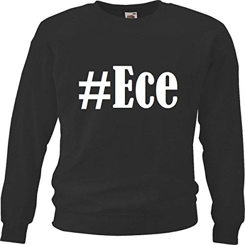 Reifen-Markt Sweatshirt Damen #Ece Größe XL Farbe Schwarz Druck Weiss