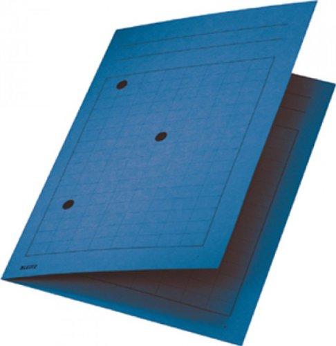 LEITZ Umlaufmappe, DIN A4, Manilakarton 320 g qm, blau