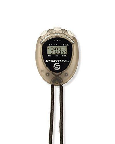 Sportline Walking Advantage 240 Econo Stopwatch Includes Stopwatch, Lanyard, Warranty Card, Instruction Sheet, and Walking Book by Sportline