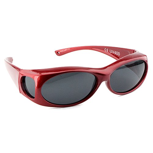 Figuretta Sonnenbrille Überbrille in Rot aus der TV Werbung