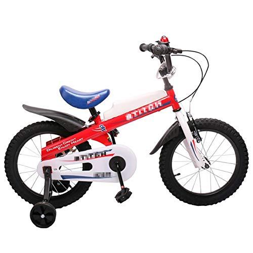 AZZ Freestyle-jongens voor meisjes voor kinderen, kinderfiets, 14 inch, met stabilisatoren, mannelijke en vrouwelijke kinderfietsen voor kinderen