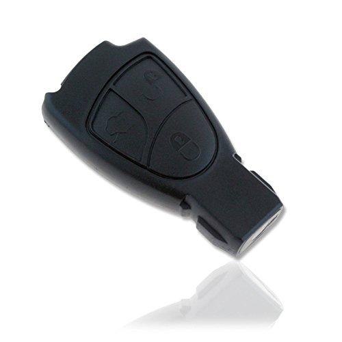 Funda carcasa mando llave coche mercedes 3 botones CLASE E C CLS CLK ML SLK CL S