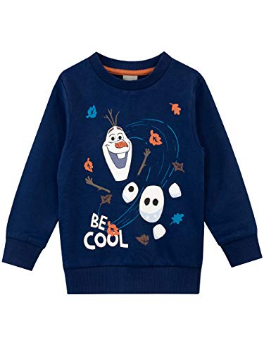 Disney Boys Frozen Sweatshirt Olaf Blue Size 3T