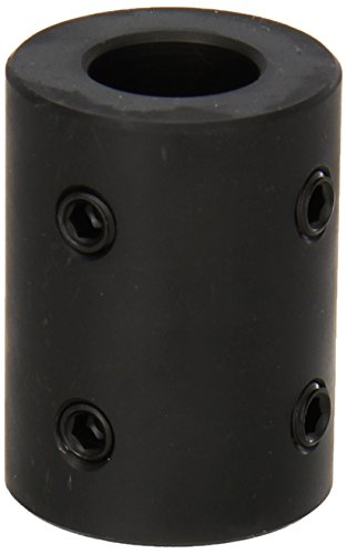 Climax Part RC-075-4H @ 90 Mild Steel, Black Oxide Plating Rigid Coupling, 3/4 inch bore, 1 1/2 inch OD, 2 inch Length, 5/16-18 x 3/8 Set Screw