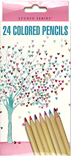 Studio Series Tree of Hearts Colored Pencil Set (Set of 24)