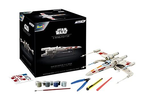Revell-Star Wars 01035 Calendario de Adviento X-Wing Fighter, Color Blanco