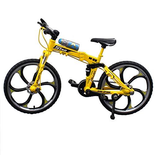 TOYANDONA 17. 5X10. Modelo de Bicicleta de Aleación Creativa de 5 Cm...