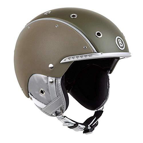 Bogner Helm Cool | Olive | Ski & Snowboard Helm | Hochwertige Qualität (Olive, M | 56-58 cm)