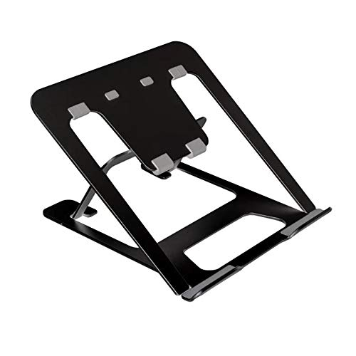 Soporte ajustable para tableta de dibujo con pantalla de aluminio ventilado para Wacom One, Cintiq 13/16, XP-Pen Artist 12/13.3/15.6 y Huion Kamvas 12/13.3/15.6