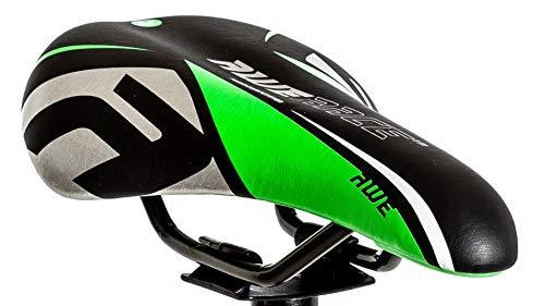 AWE® Junior MTB Jungen Sattel grün schwarz