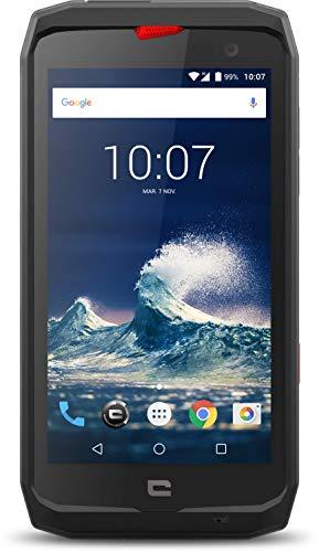 Crosscall Action-X3 Smartphone Resistente, 5'' - 32 GB Espandibili, Dual Nano SIM, Android, Nero