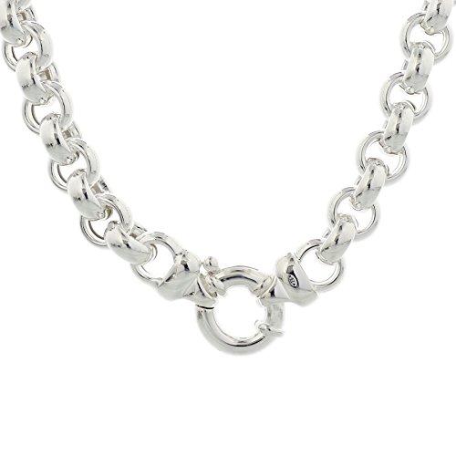 Trendjuwelier huiscollectie 1004571 zilveren ketting jasseron 10 mm