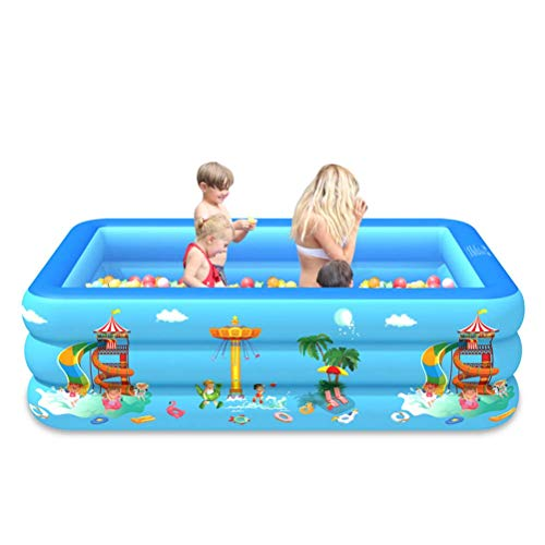 FENGLI Piscina Inflable de la Piscina de la Piscina Piscina de salón Inflable para niños del bebé del jardín al Aire Libre Partido del Agua del Verano