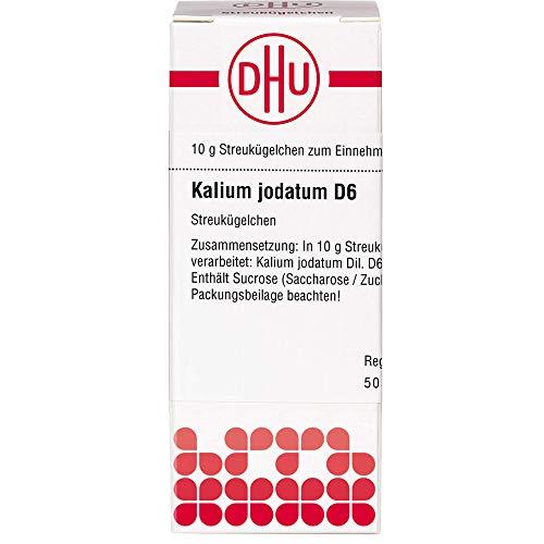 DHU Kalium jodatum D6 Streukügelchen, 10 g Globuli