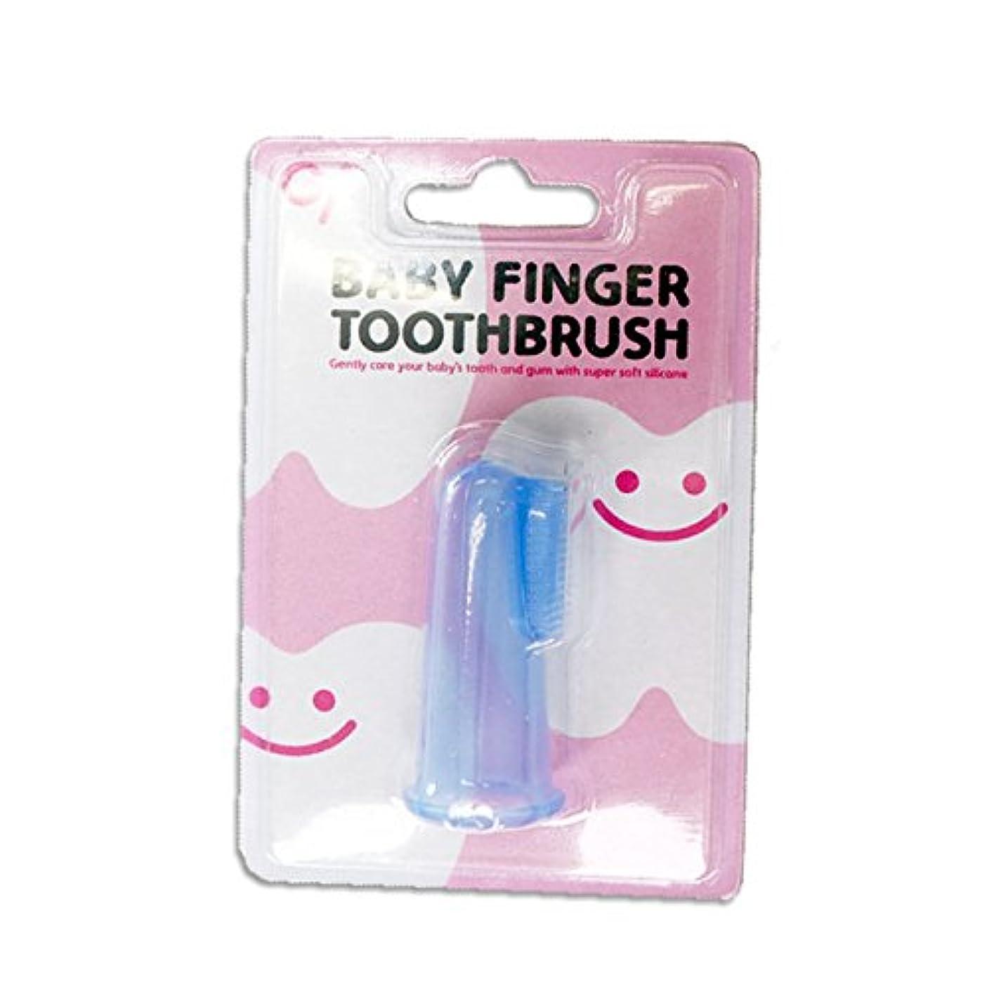 滑り台安息肯定的ベビーフィンガートゥースブラッシュ ベビーフィンガー歯ブラシ 12個入り BABY FINGER TOOTHBRUSH
