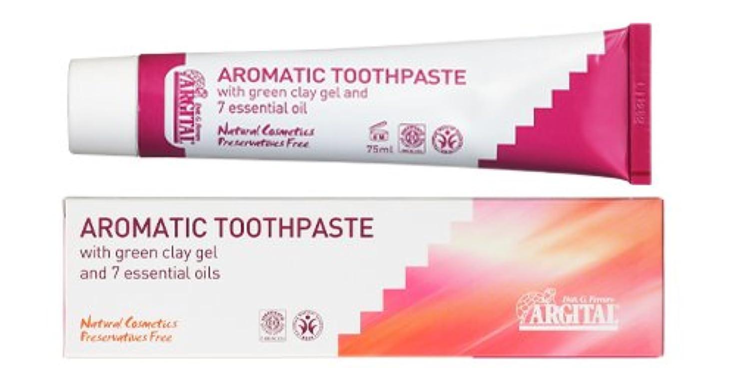 トランスペアレント息苦しい凍ったアルジタル グリーンクレイ歯みがき (アロマティック) 75mL