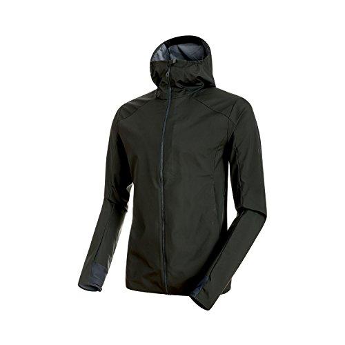 Mammut Herren Ultimate V Light SO Hooded Jacke, Graphite, XL
