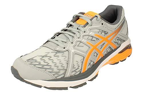 Asics GT-Xpress Hombre Running Trainers 1011B145 Sneakers Zapatos (UK 12 US 13 EU 48, pidemont Grey Orange Pop 020)