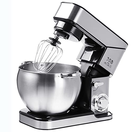 YGTMV 10L Electric Stand Mixer,6-Speed Food Processor Dough Mixer,2000W Stainless Steel Bowl Electric Motor Kneading Hook,Beater,Balloon Whisk