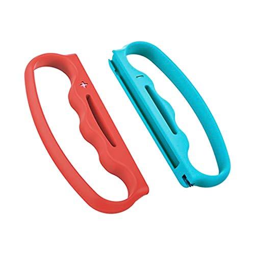 Homyl Cabo de boxe para Switch Joy-con Fitness Boxing Game, acessórios de fecho de boxe para adultos e crianças, 2 pacotes – vermelho e azul