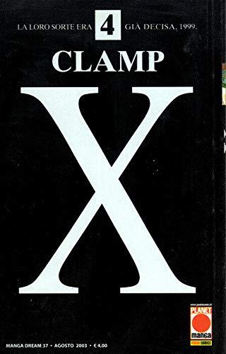 manga X CLAMP Nr. 4 Ed. Panini Planet