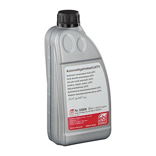 febi bilstein 22806 Automatikgetriebeöl (ATF) in automatischen Getrieben, Wandlern und Hydrolenkungen , 1 Liter