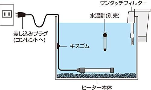 テトラ『18℃金魚用省エネヒーター30W』